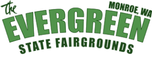 Stacked Evergreen State Fairgrounds Logo