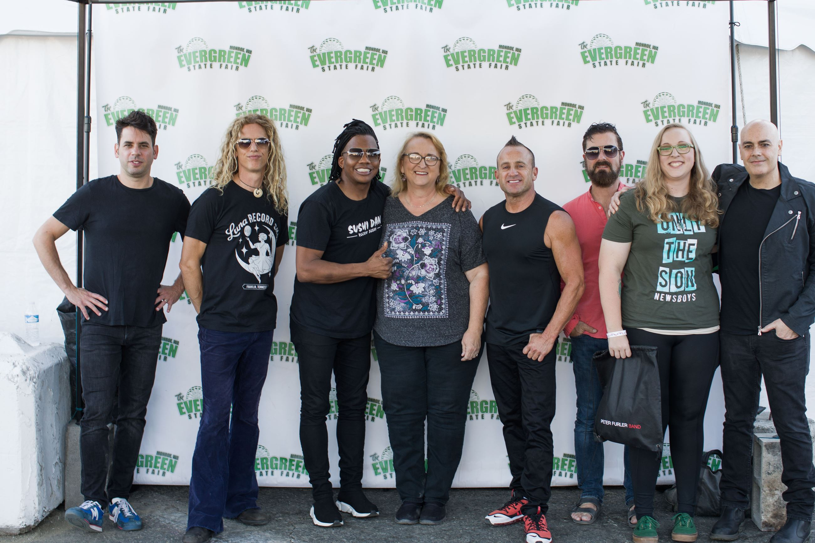 Newsboys Meet and greet