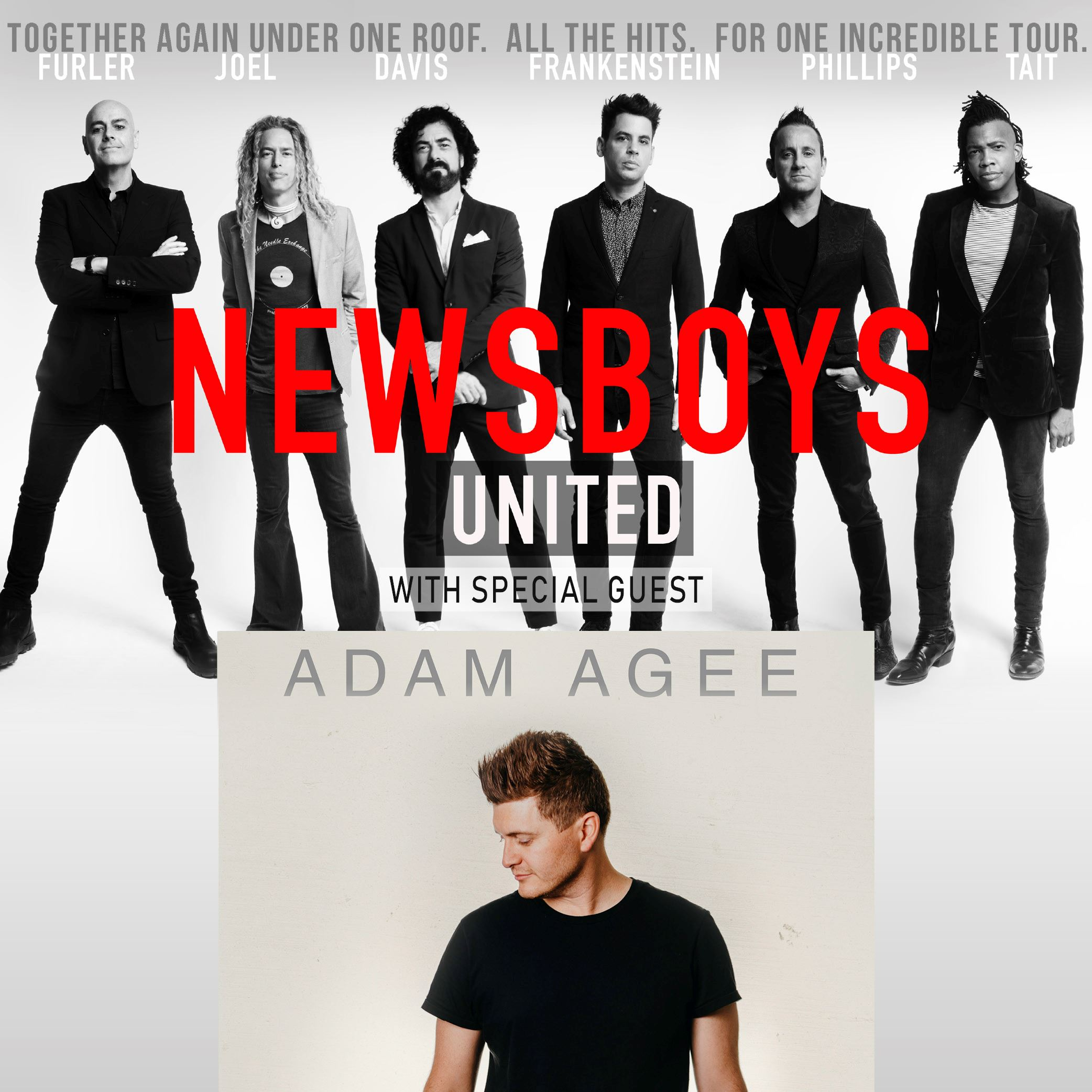 Newsboys United with special guest Adam Agee