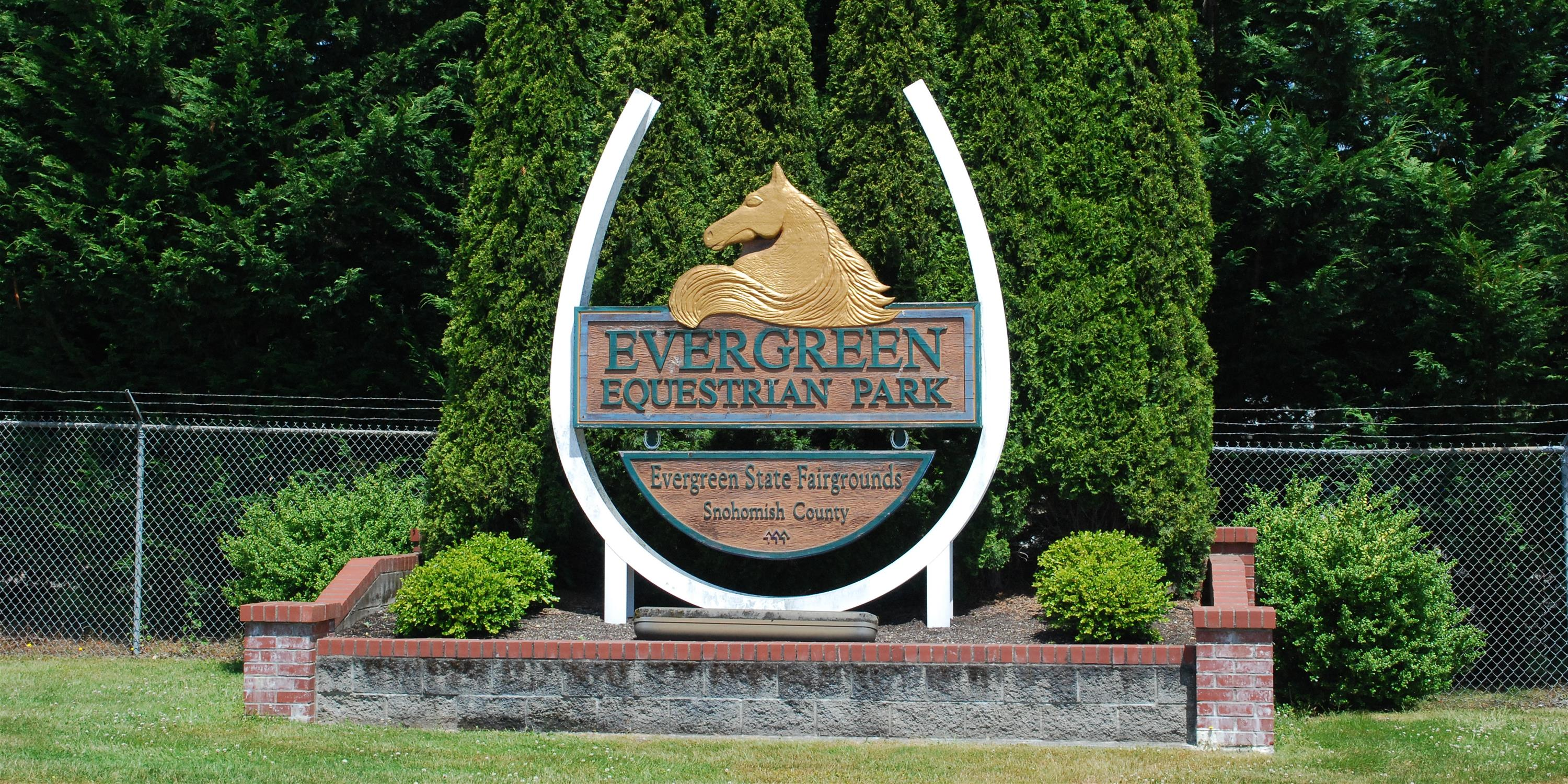 Equestrian Park Entrance Sign